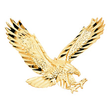 Load image into Gallery viewer, 14K Yellow Gold Eagle Pendant