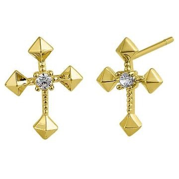 Spiritu Santo Earrings | 14K Gold