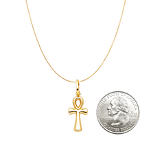 ankh cross necklace