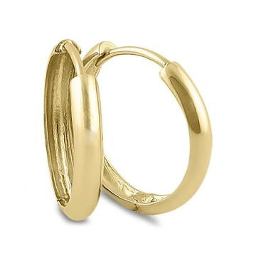 Heavenly Hoop Earrings | 14K Gold