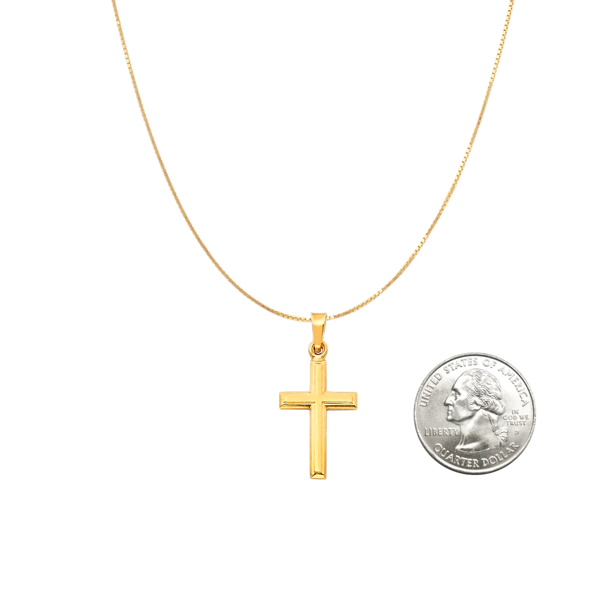 Baby Cross Pendant