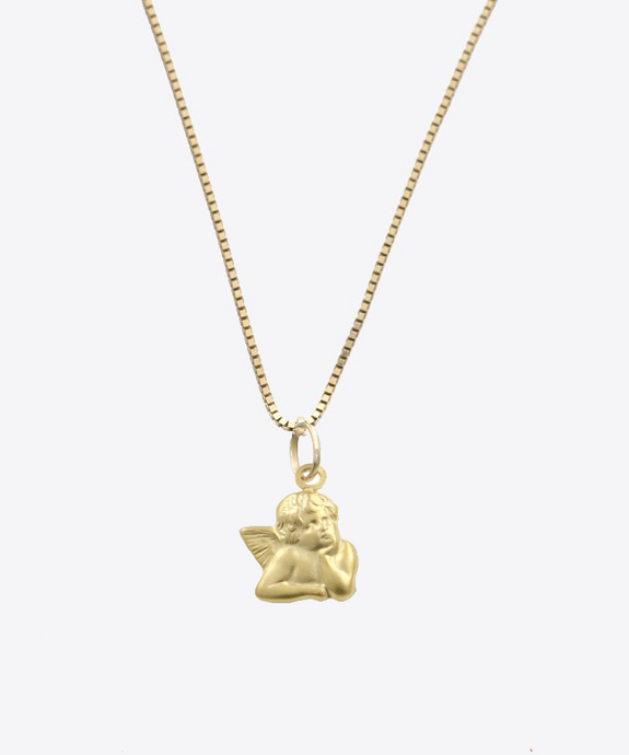 Angel Energy Necklace | 14K Gold
