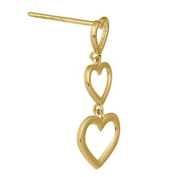 Love To Love Dangle Earrings - 14K Gold