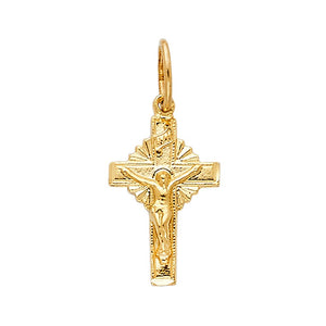 Gold Cross Pendant Chain