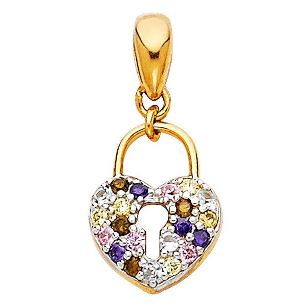 Nicest Heart Necklace made of real gold