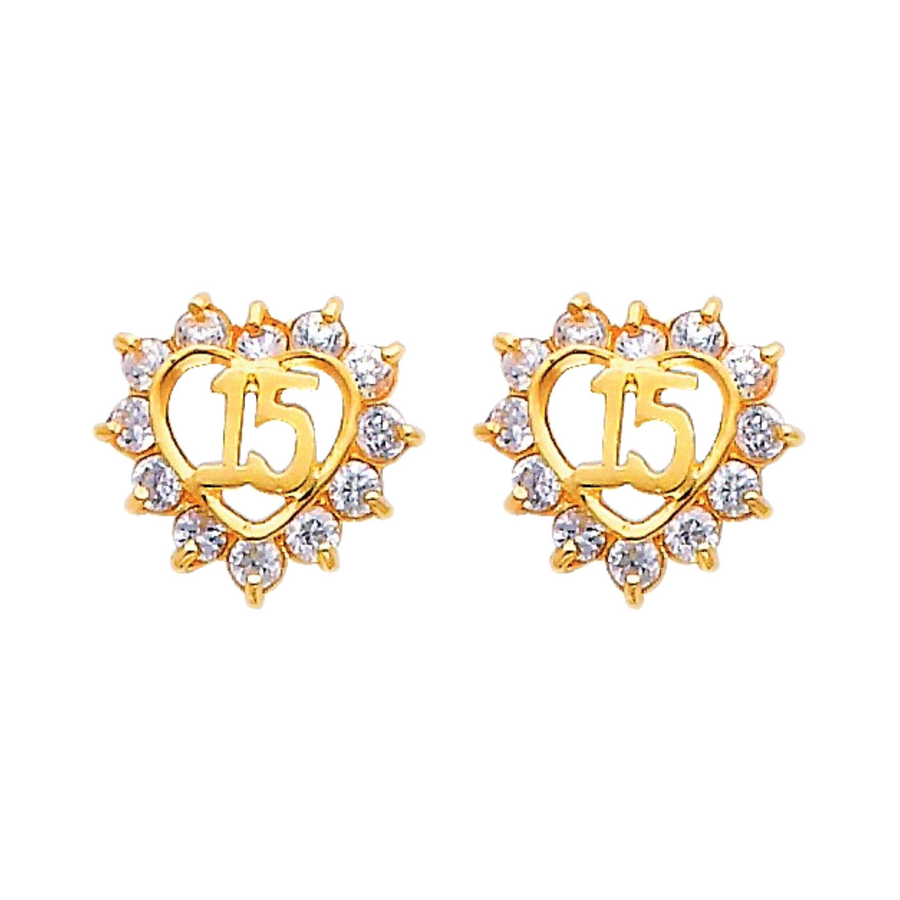 sweet 15 quinceanera earrings
