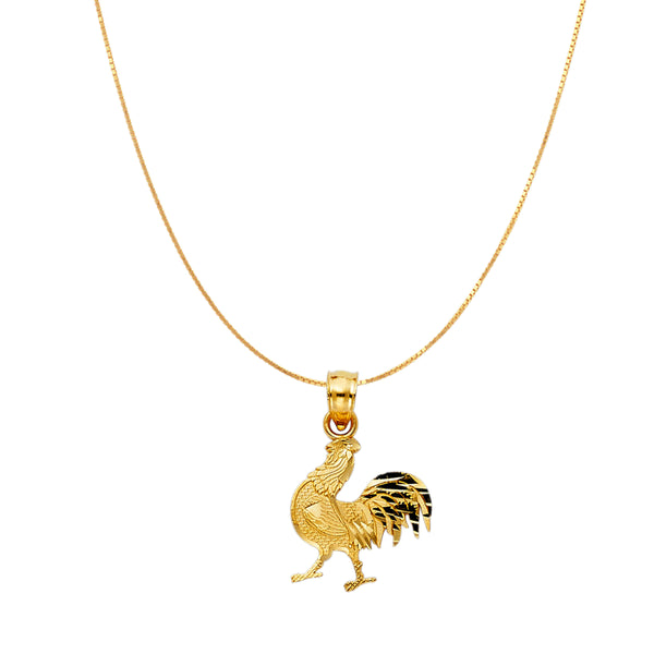 Rooster Charm Pendant