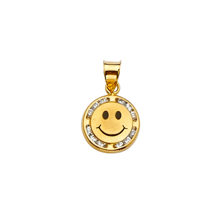 Smiley Face Pendant Necklace