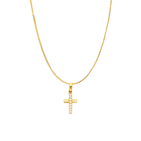 Pretty Cross Necklace