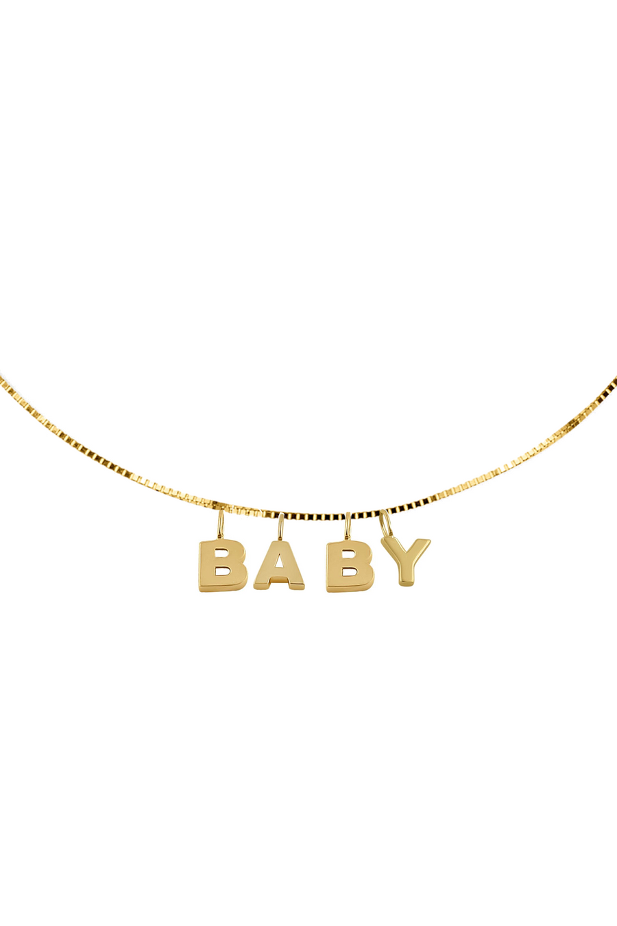 Baby Word Necklace
