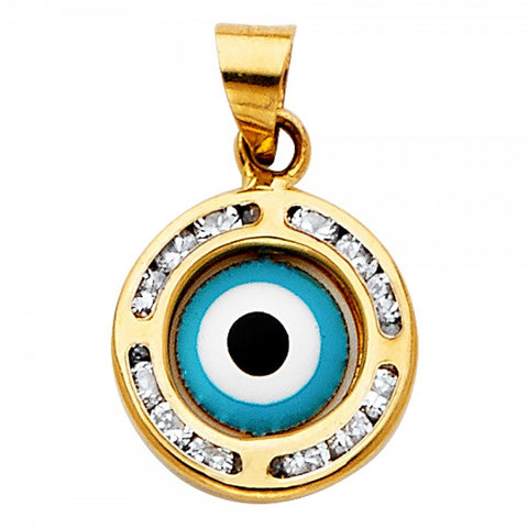All Seeing Eye Pedant 14k Gold