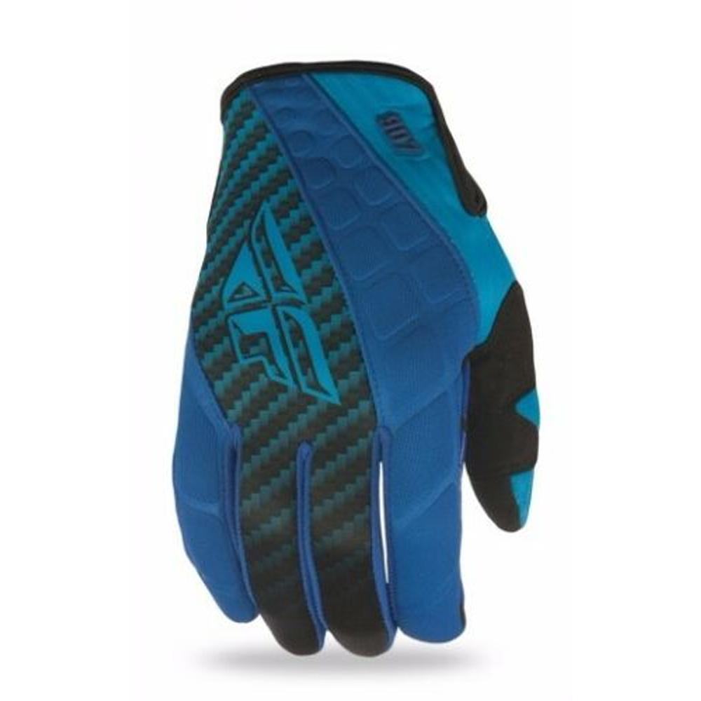 907 Neoprene Gloves Offroad Glove Fly Racing 8 BLUE MENS