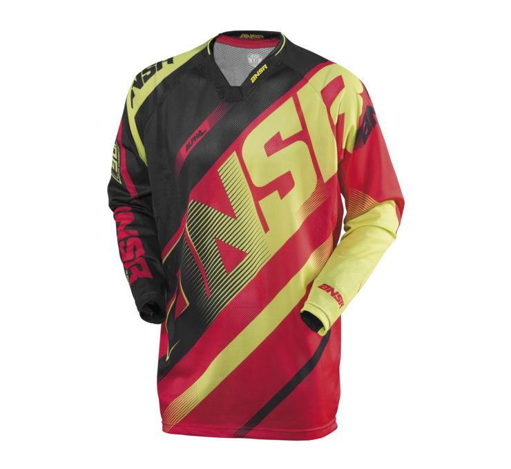 A16.5 Alpha Air Jersey Offroad Jersey Answer SM RED Adult
