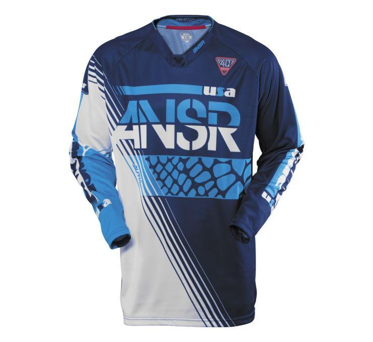 A16.5 Alpha LE Jersey Offroad Jersey Answer SM BLUE Adult