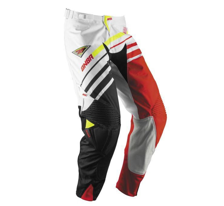 A17 Alpha Pant Offroad Pant Answer 28 WHITE