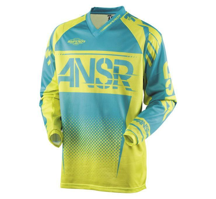A17.5 Syncron Air Jersey Offroad Jersey Answer XS BLUE Adult