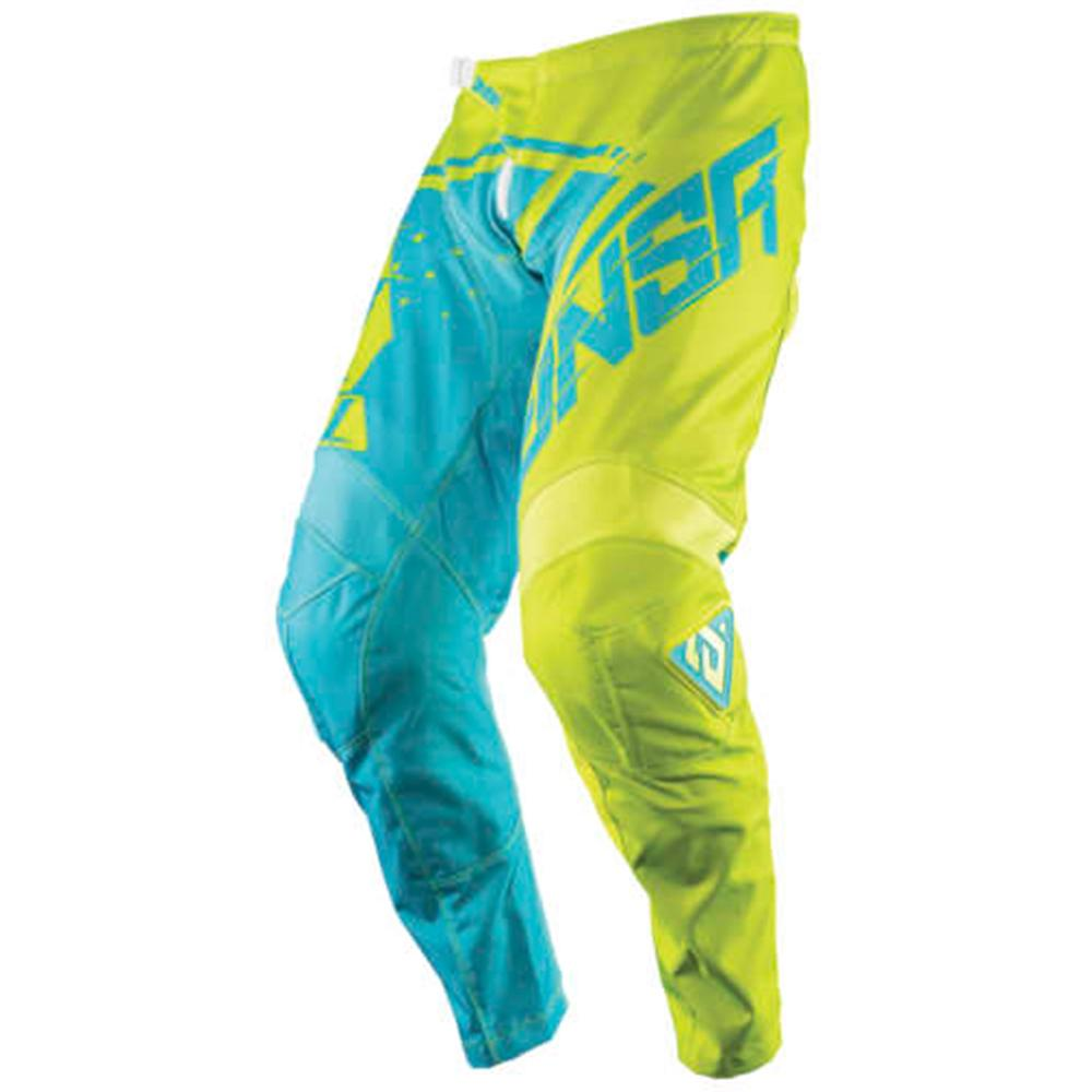 A18 Syncron Air Pant Offroad Pant Answer 34 YELLOW MENS