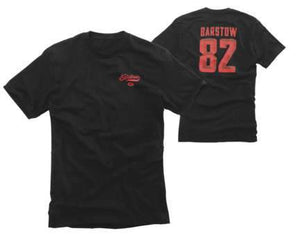 Barstow 82 Tee T-Shirt 100% SM BLACK