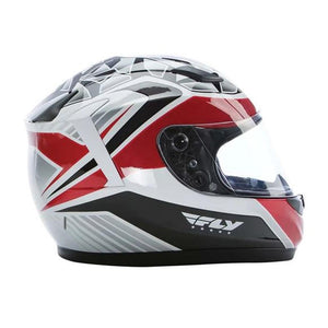 Conquest Helmet DOT & ECE Street Helmet Fly Racing XS RED Full Face