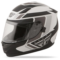 Conquest Helmet DOT & ECE Street Helmet Fly Racing XS WHITE Full Face