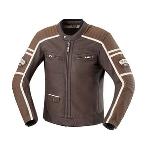 Curtis Leather Jacket Street Jacket iXS 38 BROWN Leather