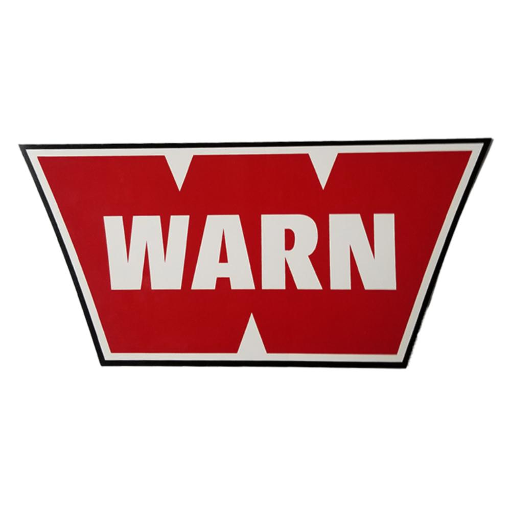 Decal Lifestyle, Gifts, Media Warn 3.5 X 6.5 RED
