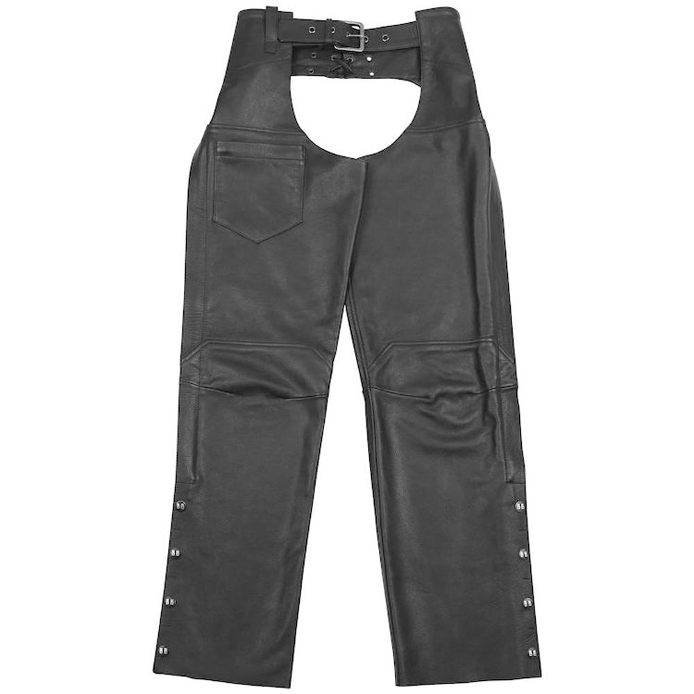 Degree Leather Chaps Leather Chaps Black Brand MD BLACK