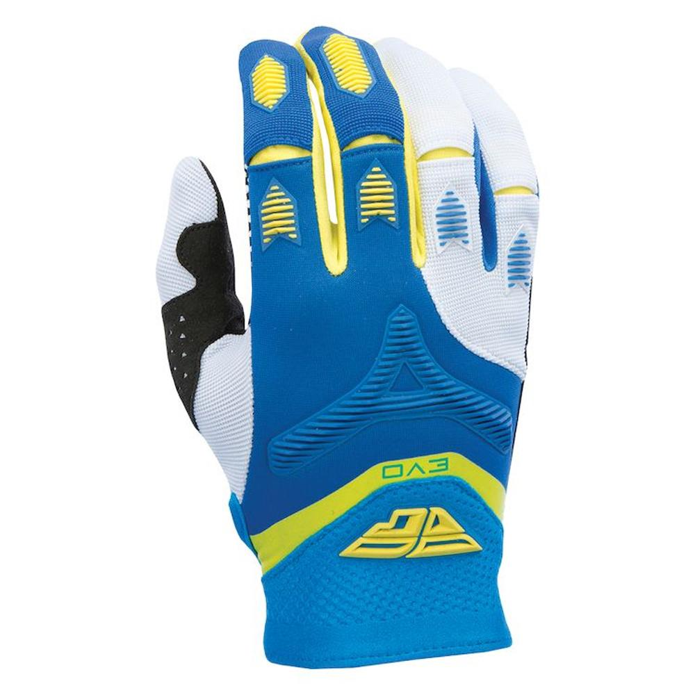 Evolution 2.0 Glove Offroad Glove Fly Racing XS BLUE