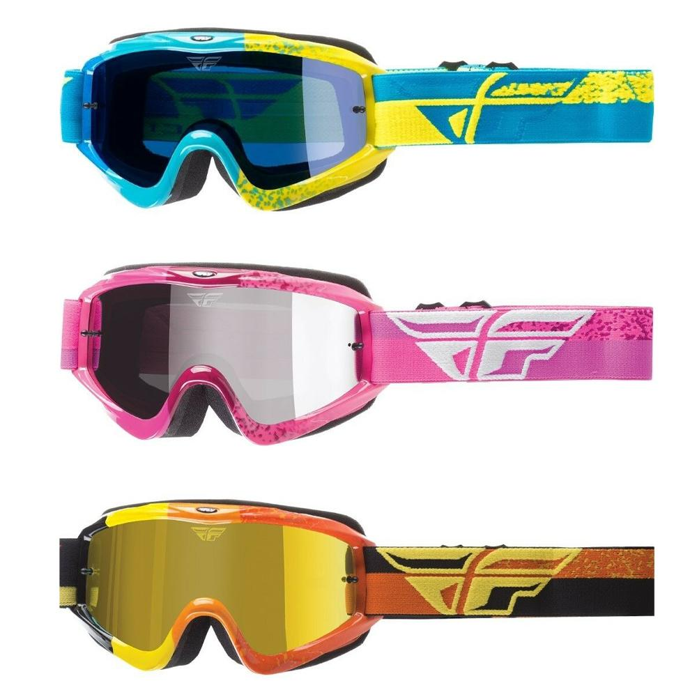 Fly Zone Composite Goggles Offroad Goggle Fly Racing OS BLUE ADULT