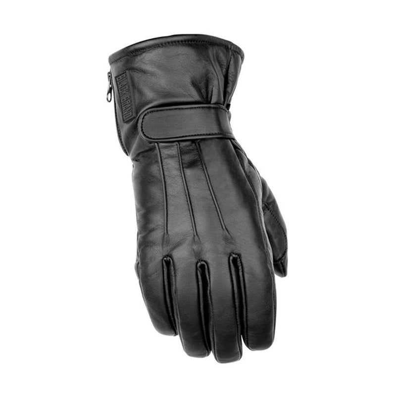 Hardcore Leather Glove Street Glove Black Brand SM BLACK