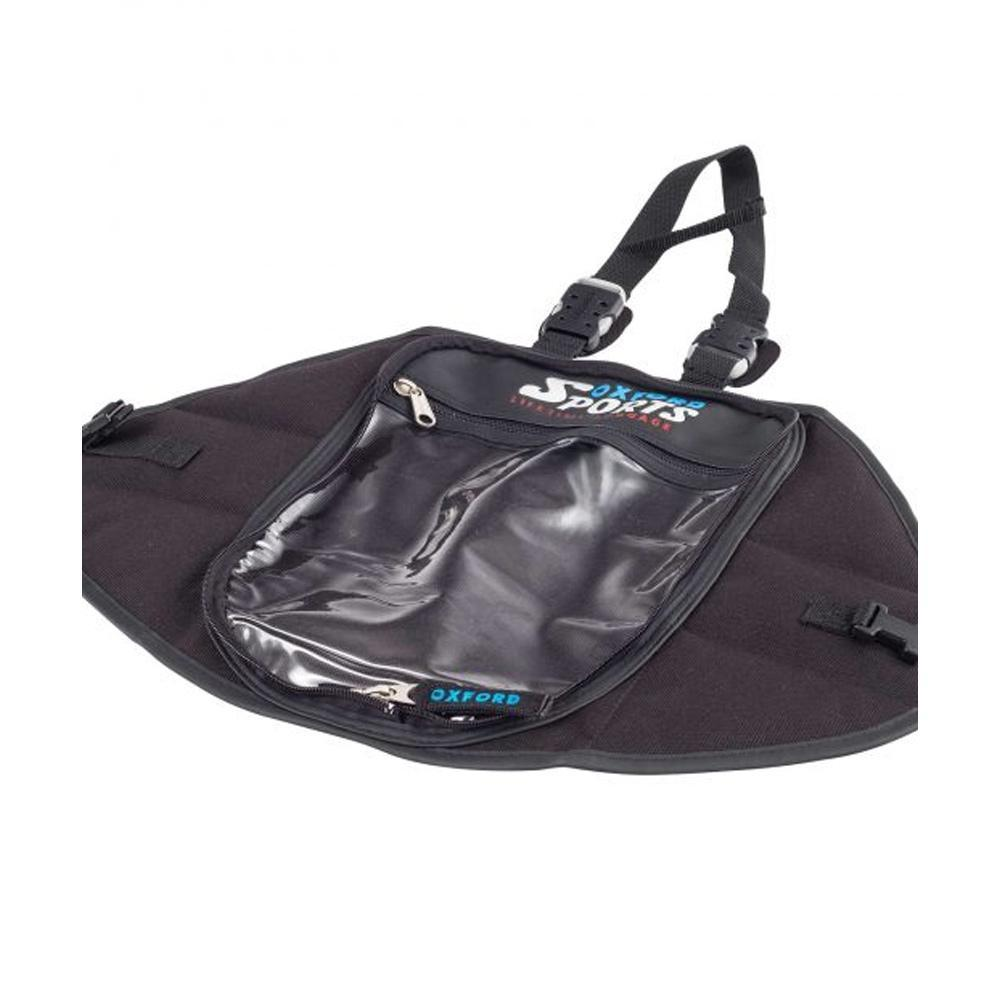 Humpback Magnetic Bag Base Luggage Oxford ONE SIZE BLACK