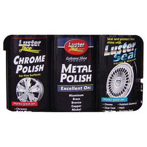 Luster Combo Kit A Chemical Luster Lace Polishes OS WHITE