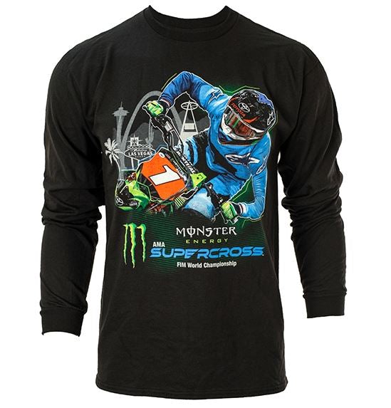 Supercross Longsleeve T-Shirt