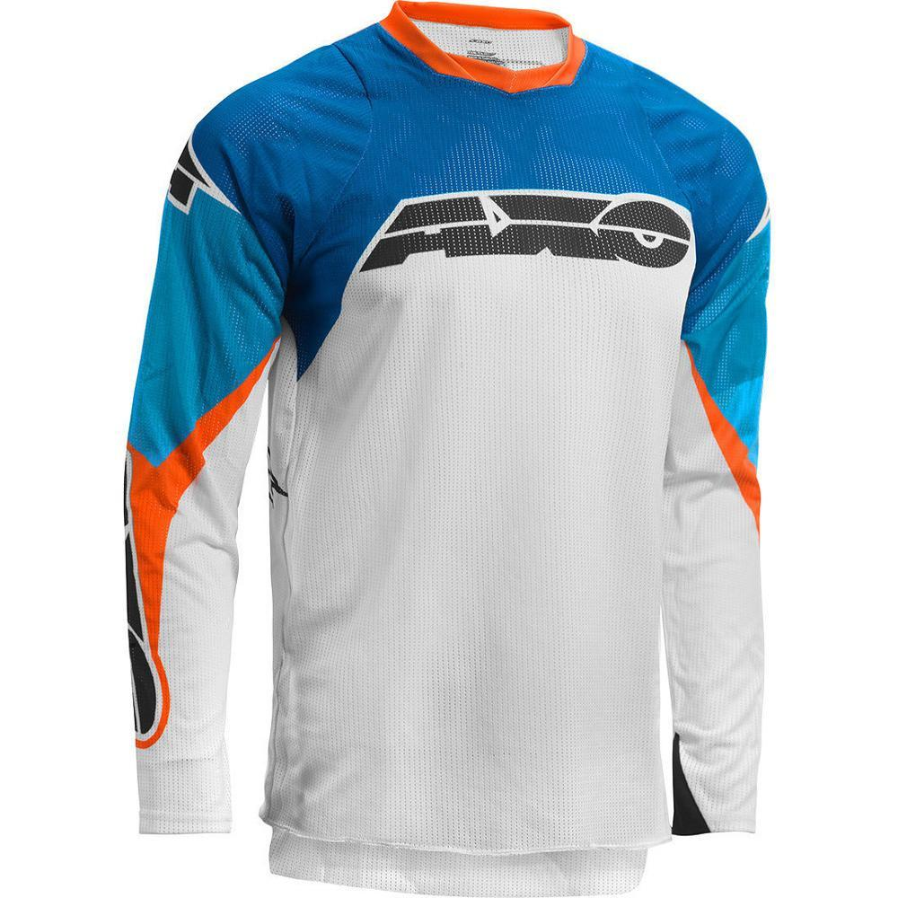 Prisma MX Jersey Offroad Jersey Axo SM BLUE Adult