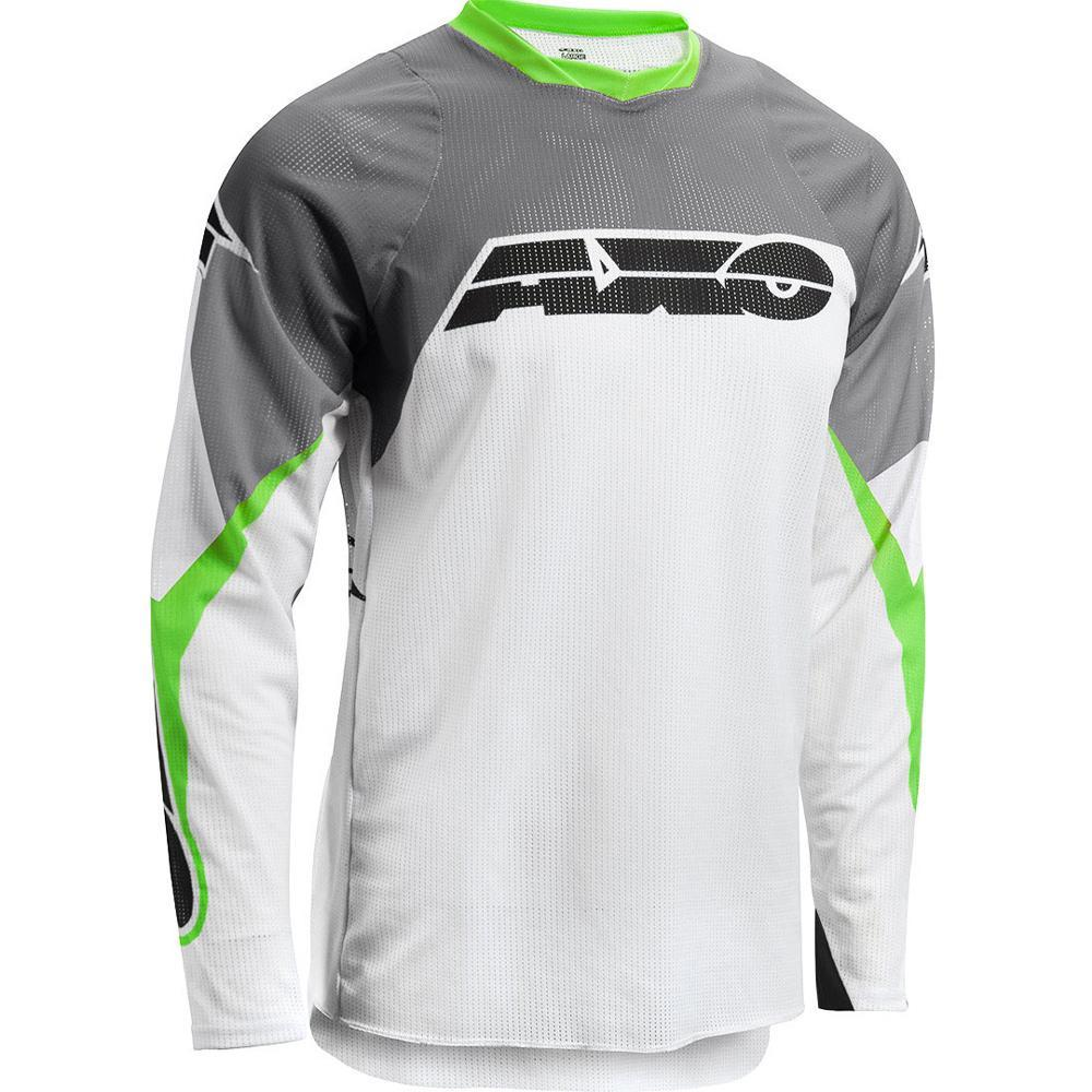 Prisma MX Jersey Offroad Jersey Axo SM GREEN Adult
