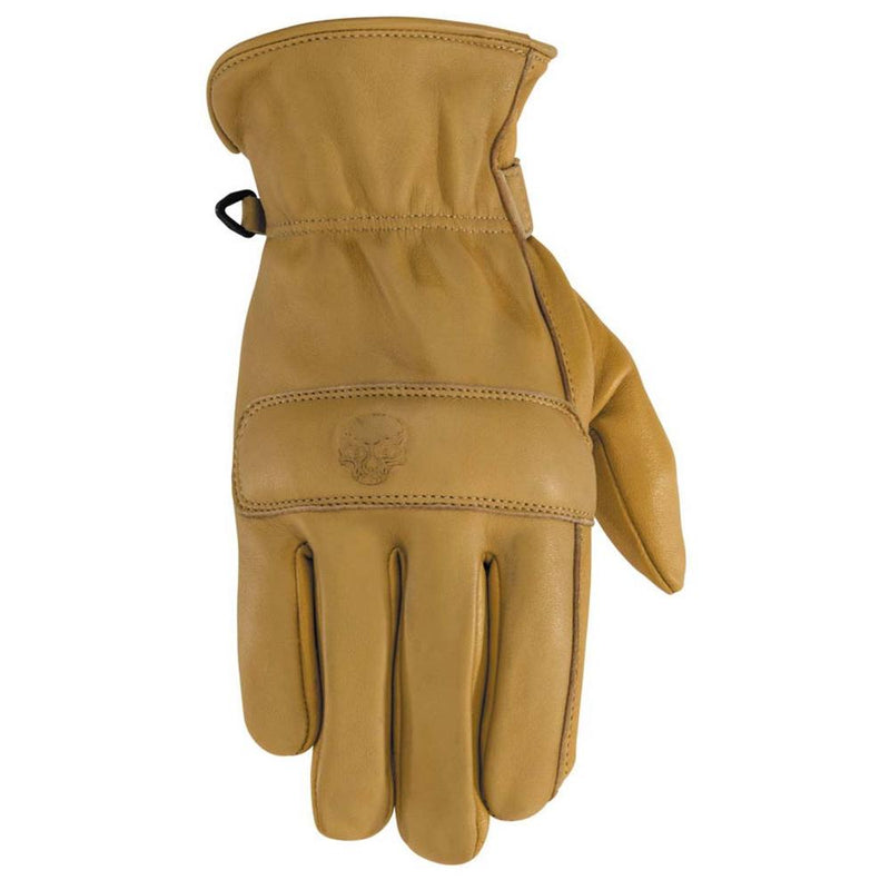Rally Leather Glove Street Glove Black Brand SM TAN