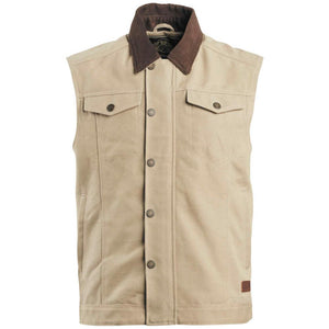 Ramone Vest Street Jacket Roland Sands Design SM TAN MENS