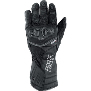 RS-200 X Leather Glove Street Glove iXS XS BLACK Leather