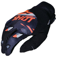 Score MX Glove Offroad Glove Shot Race Gear MD ORANGE