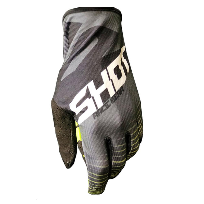 Skin ECO MX Glove Offroad Glove Shot Race Gear SM YELLOW
