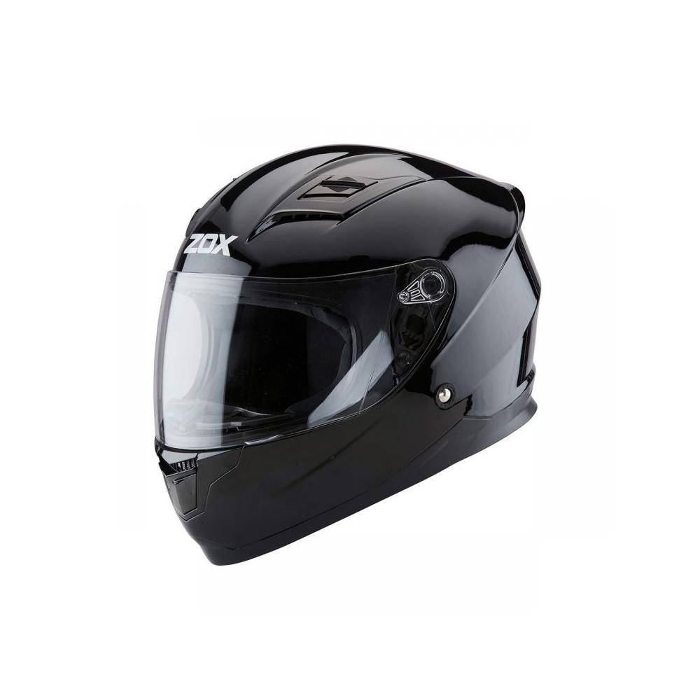 Sonic JR Solid Helmet Street Helmet Zox SM BLACK YOUTH