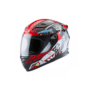 Sonic JR Tomcat Helmet Street Helmet Zox SM RED YOUTH