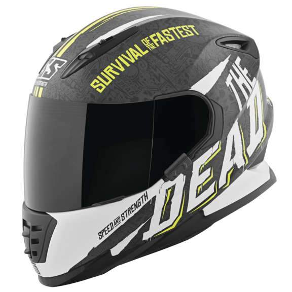 SS1310 Helmet Street Helmet Speed & Strength SM BLACK
