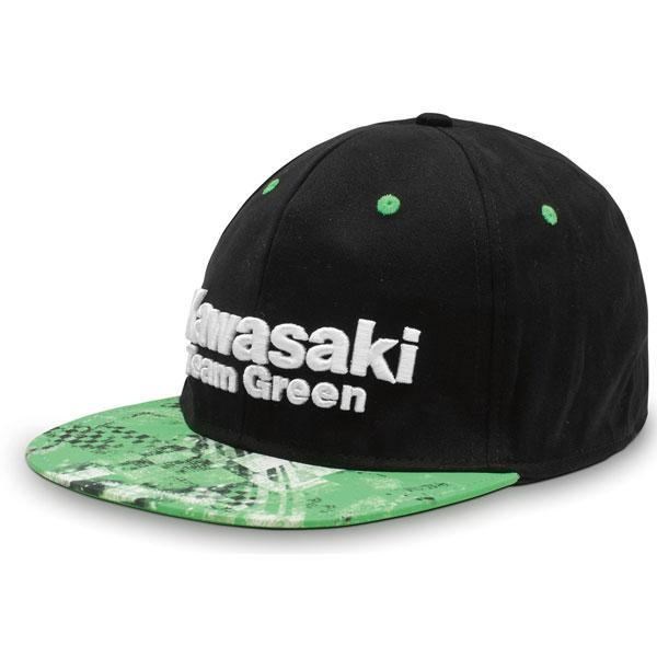 Team Green Hat Hat Kawasaki MD Black