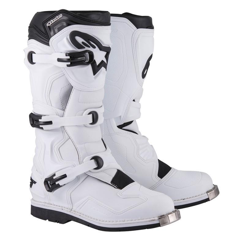 Tech 1 Boot Offroad Boot Alpinestars 5 WHITE Adult