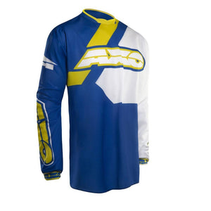 Trans Am Jersey Offroad Jersey Axo MD BLUE Adult