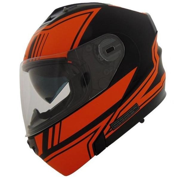 Vertice Optic Modular Helmet Street Helmet Vega 2XS Orange Modular