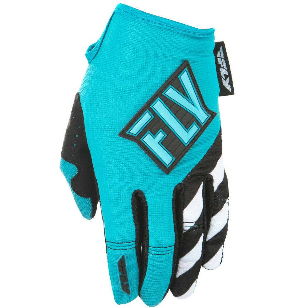 Women's Kinetic Glove Offroad Glove Fly Racing LG TEAL WOMENS