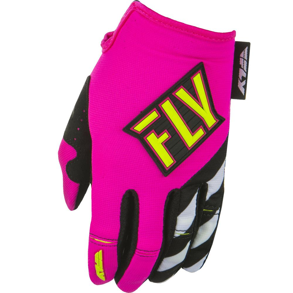 Women's Kinetic Glove Offroad Glove Fly Racing XS PINK WOMENS