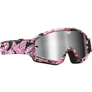 Youth Zone Pro Goggle Offroad Goggle Fly Racing OS PINK YOUTH